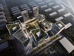 创客产业园项目-(建筑表现效果图)