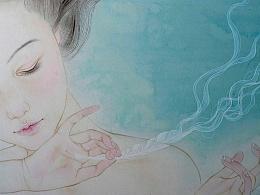 【蓝调】之【梦像雾一样散去】