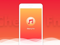 Cherry Music APP for Android(Material Design)