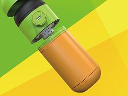 智能USB可充电过滤水杯