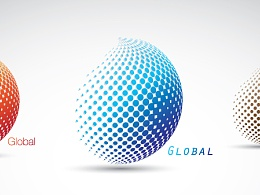 LOGO设计练习-global-全球国际