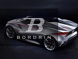 博郡汽车logo设计