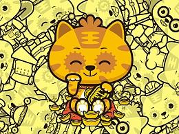 腾讯王卡卡通形象设计——顺榴