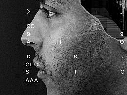 科技感人物海报设计