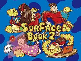 心动时刻 surface book2 电脑包图案设计
