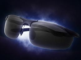 亚马逊时尚眼镜铝镁眼镜