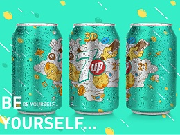 7UP.BE YOURSELF...