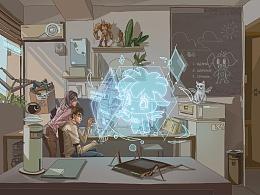iQOO未来科幻机