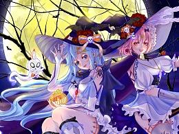 女巫空调娘骑着扫帚带着魔法来啦