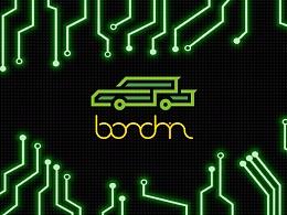 博郡Bordrin汽车品牌logo设计