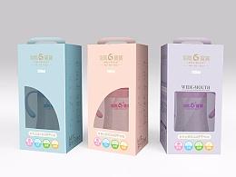 奶瓶-包装设计-龙凤宝宝品牌