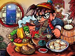 """最爱""""中国美食""""柯南"""