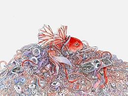 浮狱  - 【飞鱼抑】