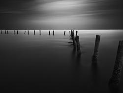 一些海景黑白作品