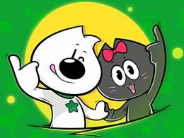 宠物品牌卡通设计