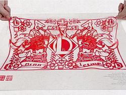 英雄联盟剪纸设计