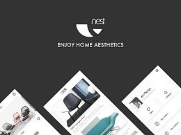 Nest 家具设计App界面设计