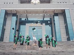 毕业了-学校的最后一张画