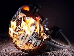PS怎么制作火焰燃烧效果文字火焰人制作过程