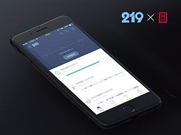219鼾尼 APP UI × 田龙创意