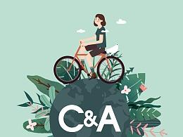 C&A  X 全球绿色环保、低碳出行