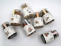 问农-花草茶系列包装