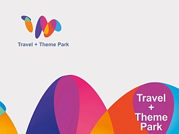 贺冰凇原创:  Travel + Theme Park  品牌形象设计
