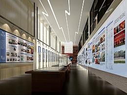 武汉理工大学校史馆设计 博物馆设计 纪念馆设计
