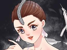 芭蕾舞剧演员-插画练习