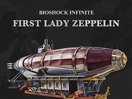 Bioshock Infinite - First Lady Zeppelin