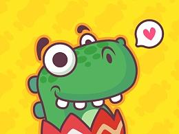 最近画些小怪物感觉好有意思!!