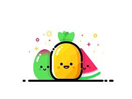MBE风格水果