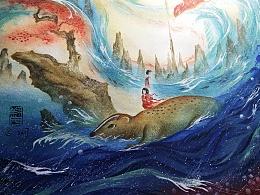 【縛海集——鳳舞西林】——附過程—翔魚
