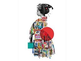 《Made in Japan》法国20/20海报展参展作品