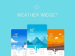 天气插画+GIF小动画