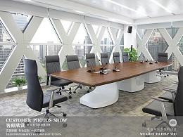 办公家具工程案例摄影--工程案例