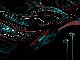 【孤独】| TRACK+耳机原创分形艺创系列海报