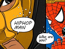 Portraits| Hiphopman X SpiderMan够嘻哈么?