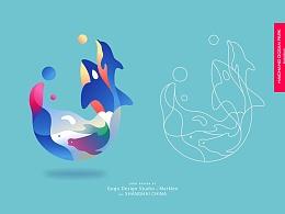 上海海昌海洋公园LOGO设计征集活动 - 作品 M01