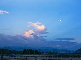 龙门大桥-夕阳西下