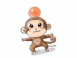小猴子一只(未商用)