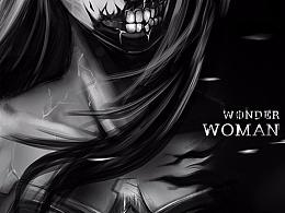 Dark wonder woman