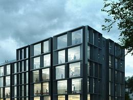教学楼 black box | 4k