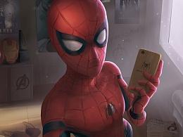 蜘蛛侠的日常