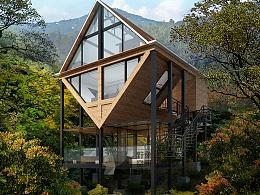 彩虹渡-中国最大木屋群改造设计项目