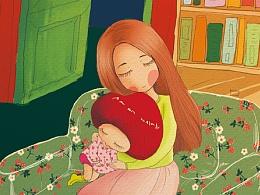 《小番茄》图书插画