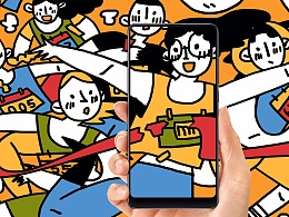 《突破》---小米MIX2全面屏海报创意设计大赛
