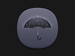 雨伞_icon临摹