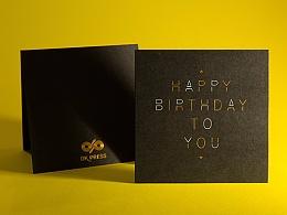 生日贺卡 Birthday Card | 良卡印记