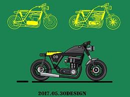一组motorbike